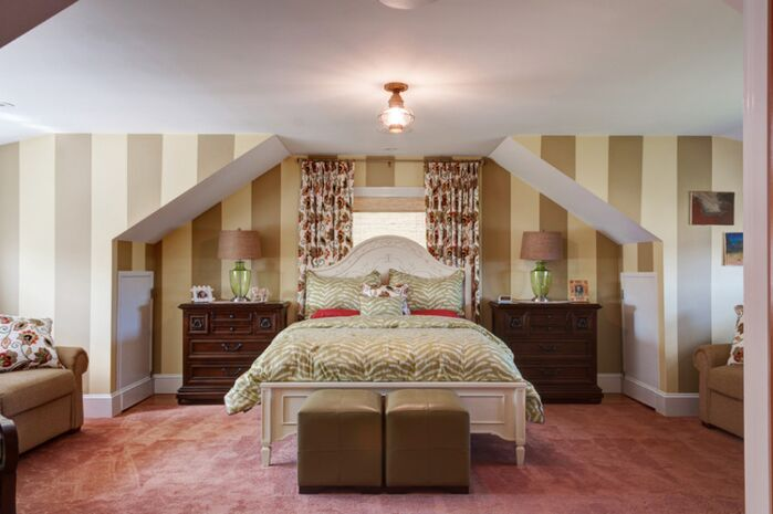 Traditional Bedroom photo by Interiors by Paul Chaisson