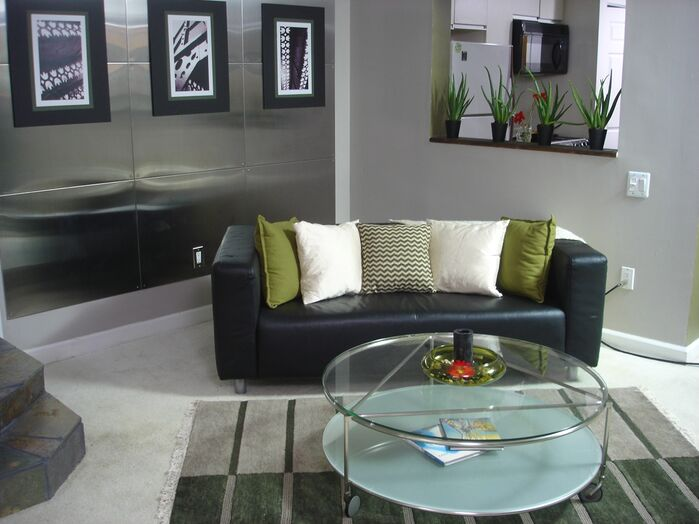 Modern Living Room photo by Custom Home Interior Creations, LLC