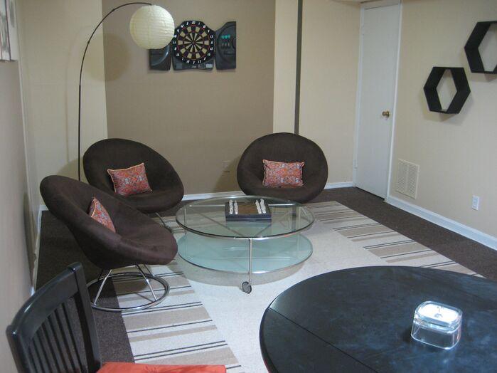 Contemporary Game/Rec Room photo by Custom Home Interior Creations, LLC