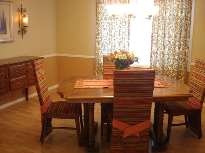 Contemporary Dining Room photo by Custom Home Interior Creations, LLC