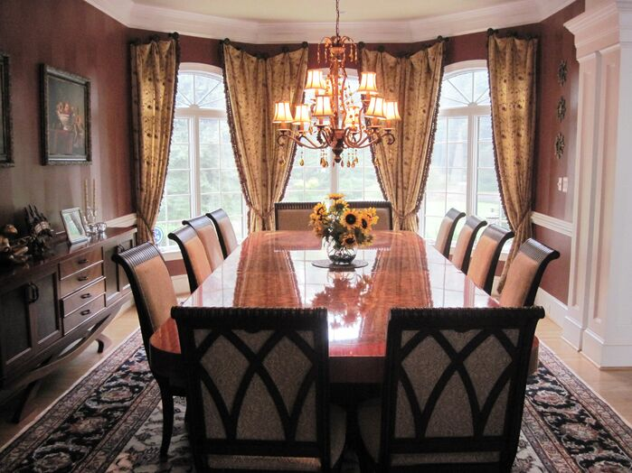 Traditional Dining Room photo by Custom Home Interior Creations, LLC