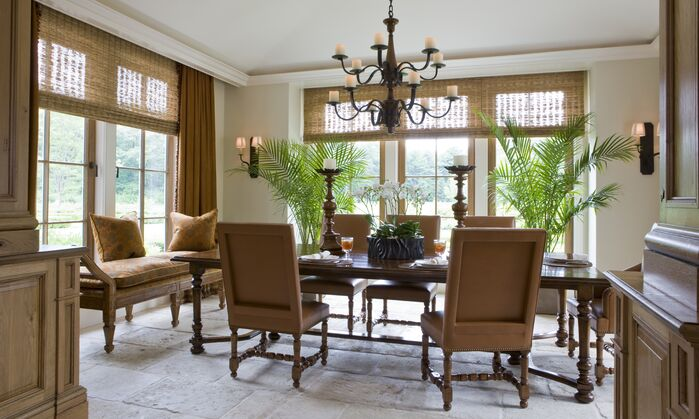 Traditional Dining Room photo by SLC Interiors