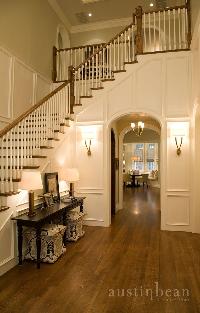 Traditional Entryway and Hallway photo by Austin Bean Design Studio