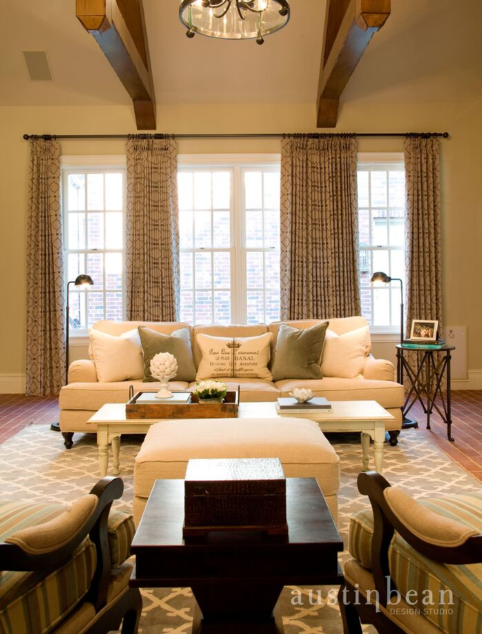 Traditional Living room photo by Austin Bean Design Studio