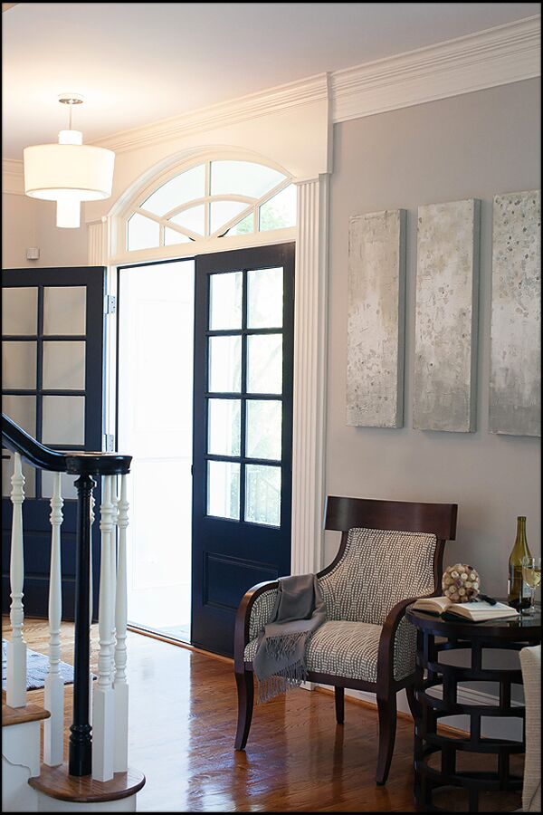 Contemporary Entryway and Hallway photo by Interiors by Redesign