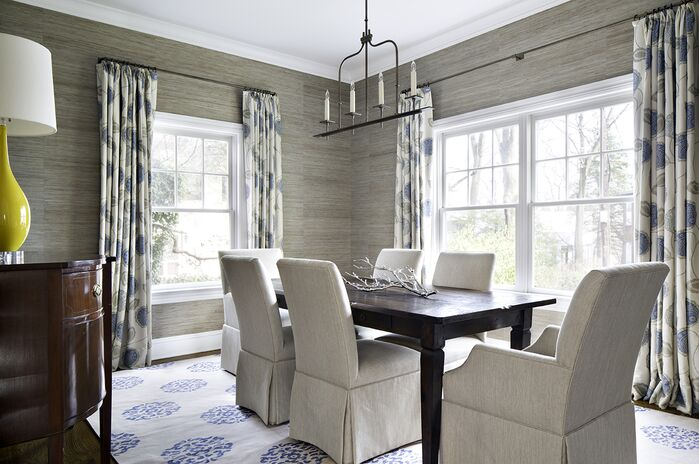 Traditional Dining Room photo by Clean Design Partners
