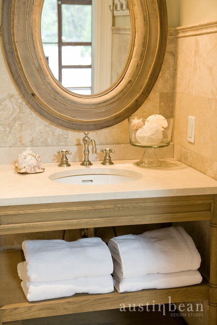 Coastal Bathroom photo by Austin Bean Design Studio