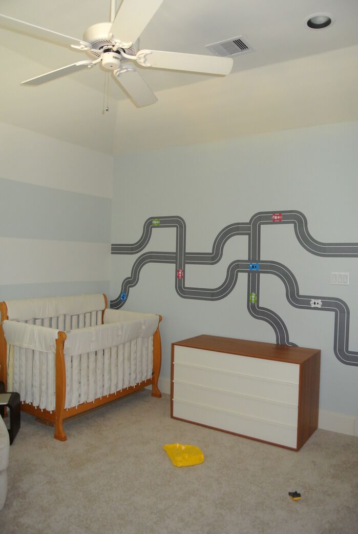 Contemporary Nursery photo by FO Design