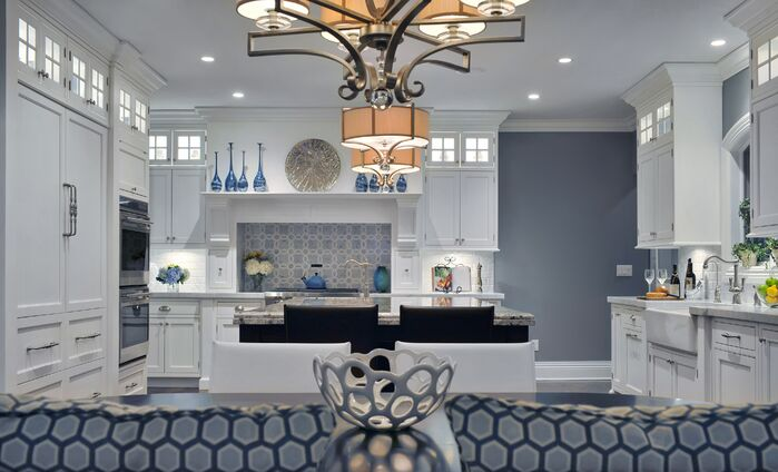 Contemporary Kitchen photo by Ellen Baker Interiors