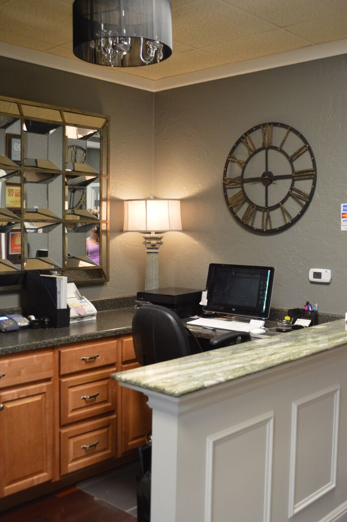 Contemporary Home Office photo by Shandrikas Decorating And Design