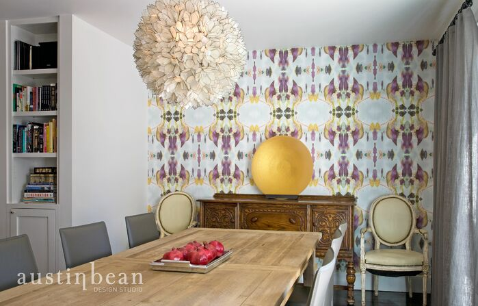Contemporary Dining Room photo by Austin Bean Design Studio