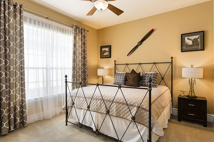 Industrial Bedroom photo by Florida Furniture Packages