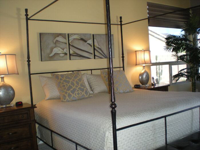 Traditional Bedroom photo by Center Stage Interiors
