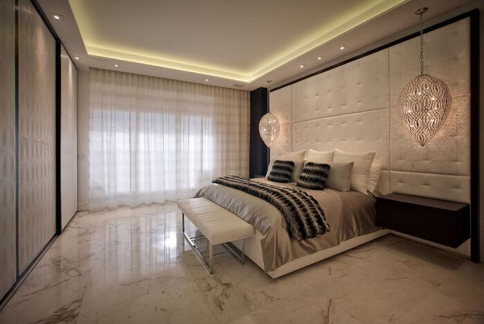 Modern Bedroom photo by Pepe Calderin Design