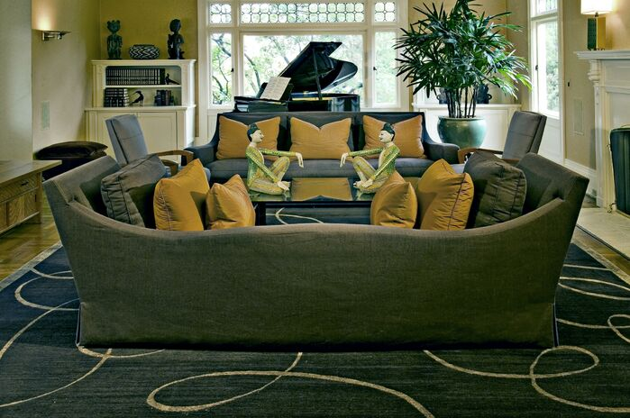 Contemporary Living Room photo by Jan Gunn Designs