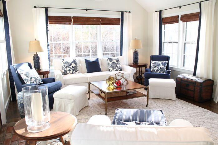 Coastal Living Room photo by Kristy Kay