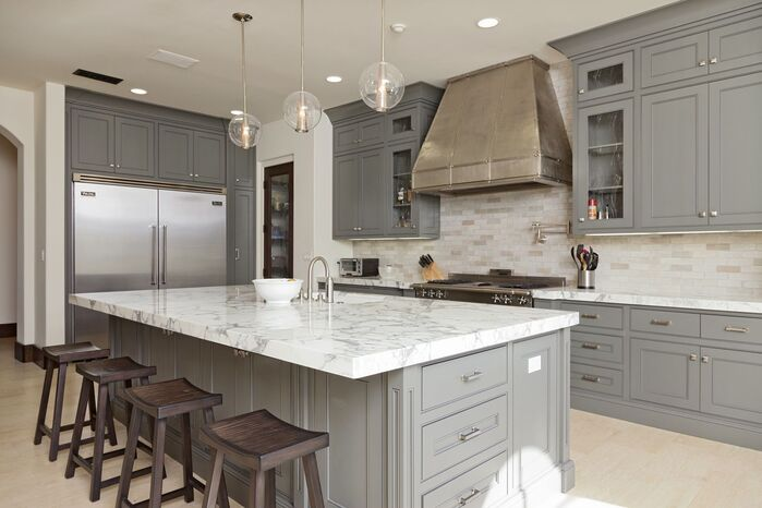 Contemporary Kitchen photo by Kathleen DiPaolo Designs
