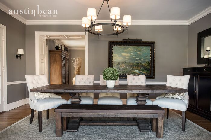 Traditional Dining Room photo by Austin Bean Design Studio