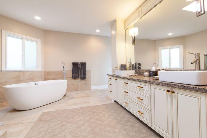 Contemporary Bathroom photo by Susan Jay Design