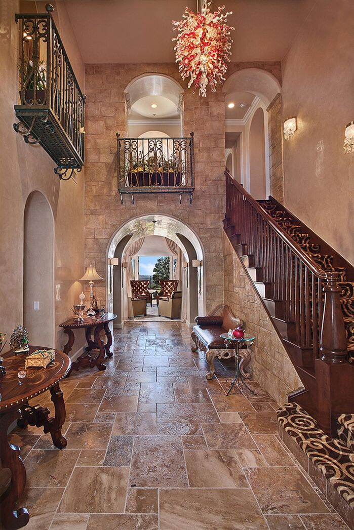Traditional Entryway and Hallway photo by Beverly Hills Interiors