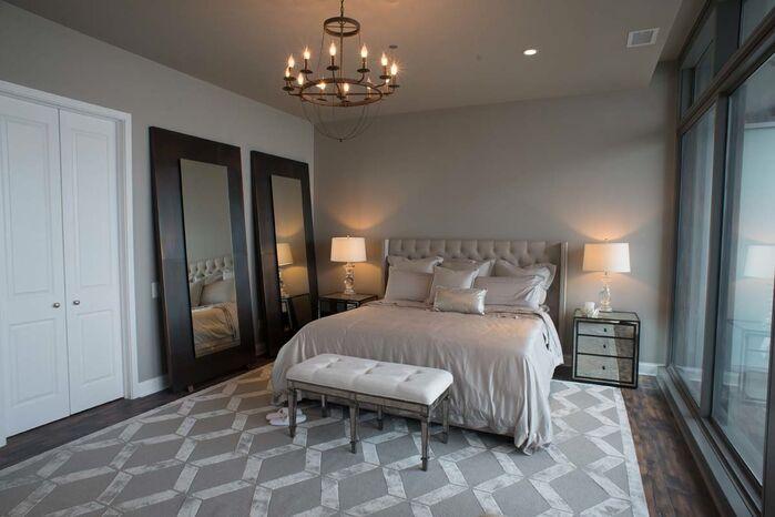 Glam Bedroom photo by Debora Lyn Interior Design