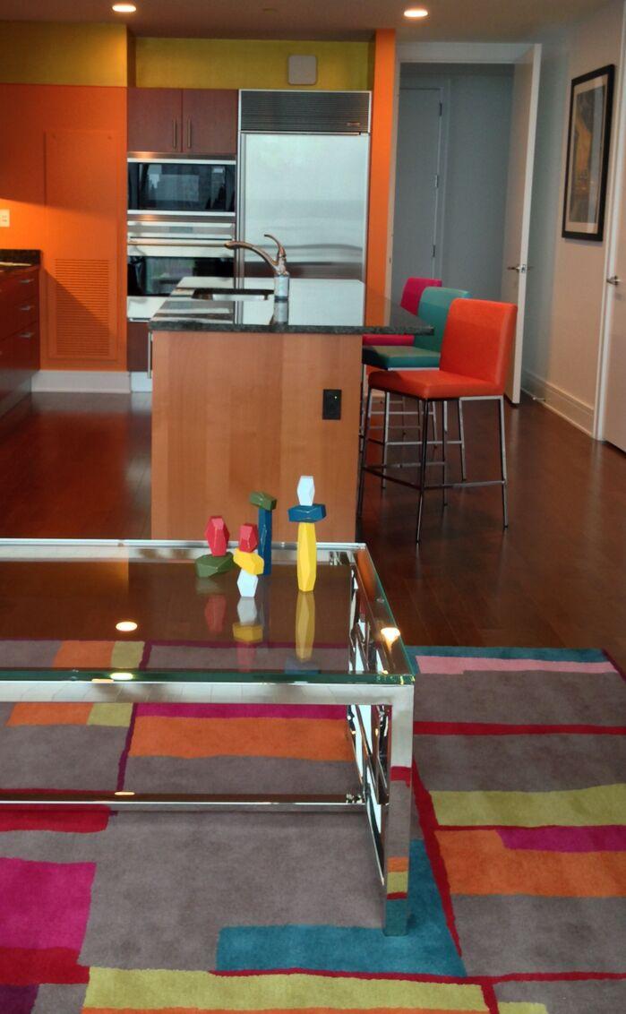 Eclectic Kitchen photo by Debora Lyn Interior Design