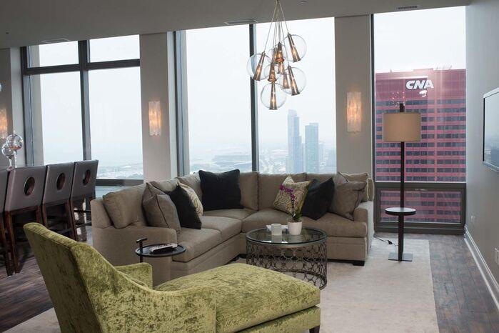 Contemporary Living Room photo by Debora Lyn Interior Design