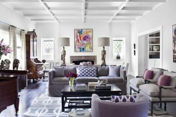 Contemporary Living Room photo by Burnham Design