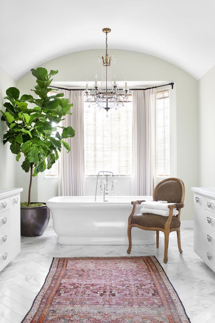 Traditional Bathroom photo by Burnham Design