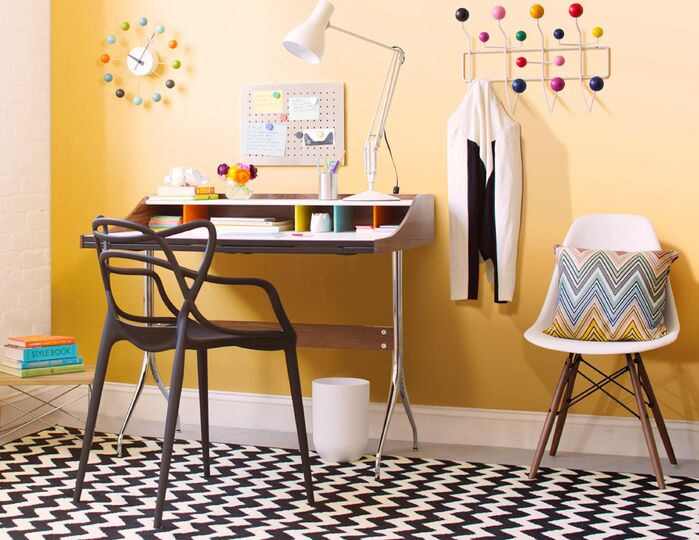 Eclectic Home Office photo by Wayfair