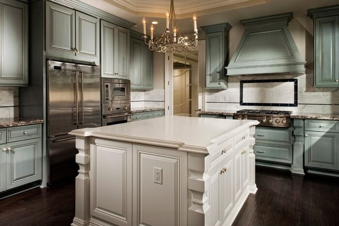 Traditional Kitchen photo by SCM Design Group