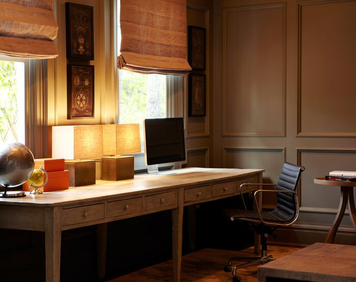 Contemporary Home Office photo by Chango & Co.