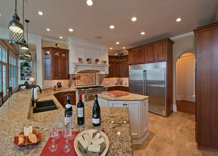 Traditional Kitchen photo by RCI Interior Design