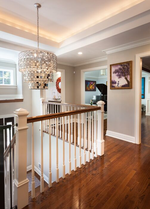 Contemporary Entryway and Hallway photo by Dawn Elise Interiors
