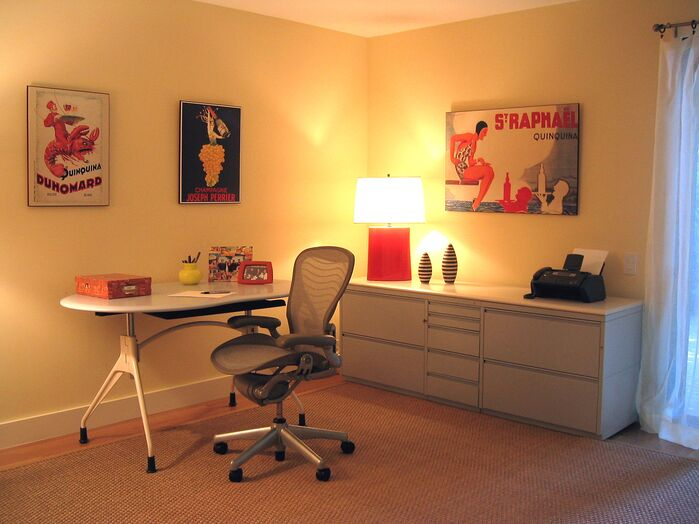 Modern Home Office photo by Susan Corry Design
