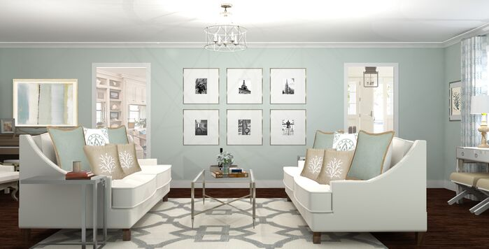 Traditional Living Room photo by A Space to Call Home