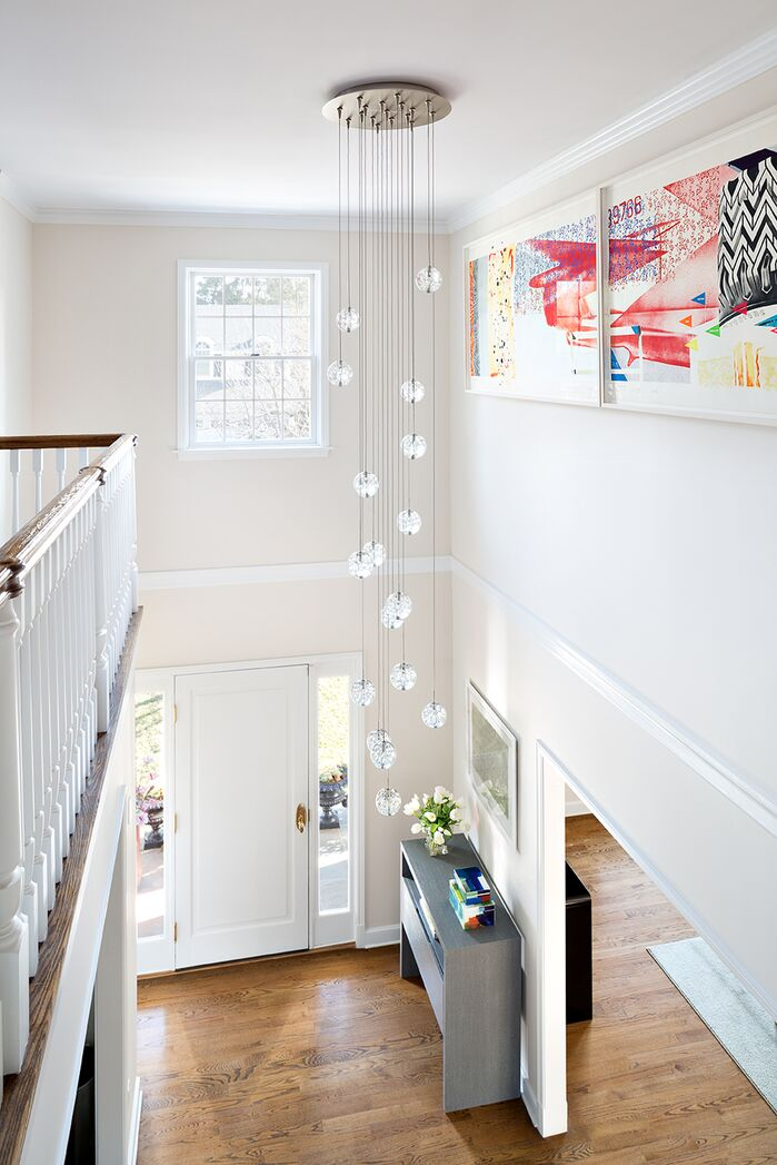 Contemporary Entryway and Hallway photo by Clean Design Partners