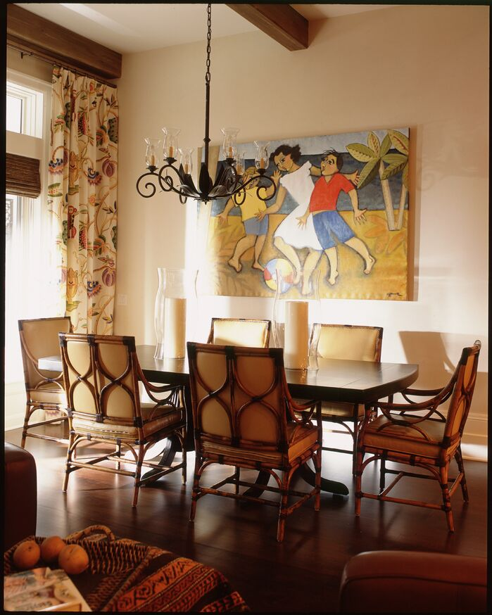 Coastal Dining Room photo by Chancey Design