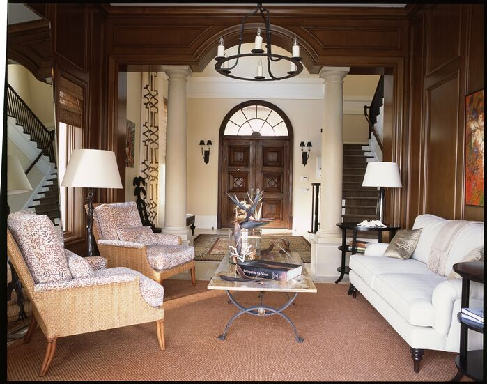 Eclectic Living Room photo by Chancey Design