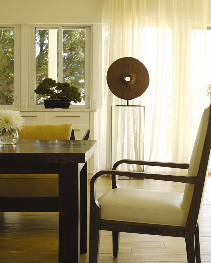 Contemporary Dining Room photo by Chancey Design