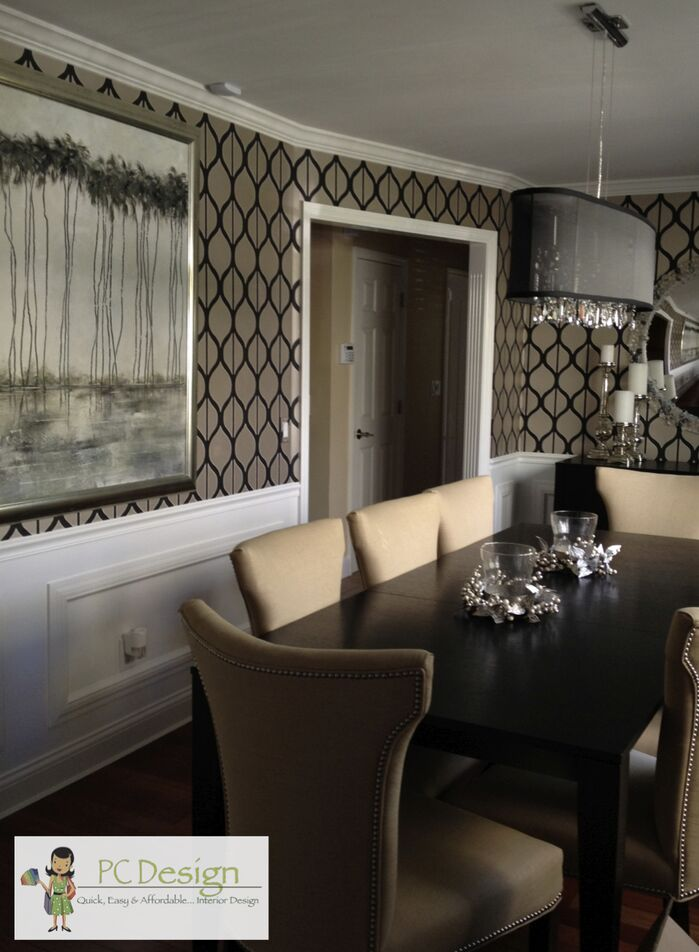 Modern Dining room photo by PC Design Inc