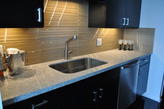 Coastal Kitchen photo by Sweet Surroundings Design Group