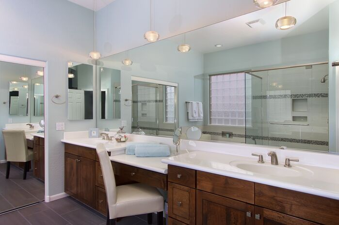 Contemporary Bathroom photo by Elle Interiors AZ