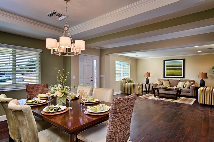 Contemporary Dining Room photo by Elle Interiors AZ