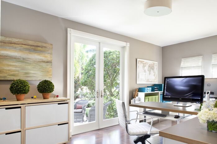 Contemporary Home Office photo by Krista Watterworth Design Studio