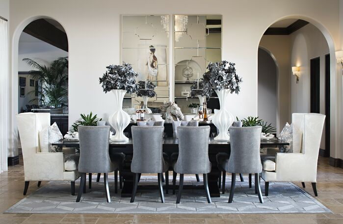 Contemporary Dining Room photo by Style On a Shoestring
