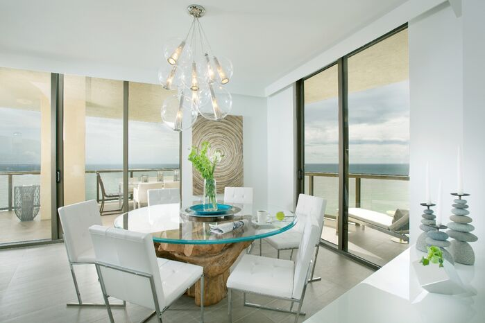 Modern Dining Room photo by DKOR Interiors