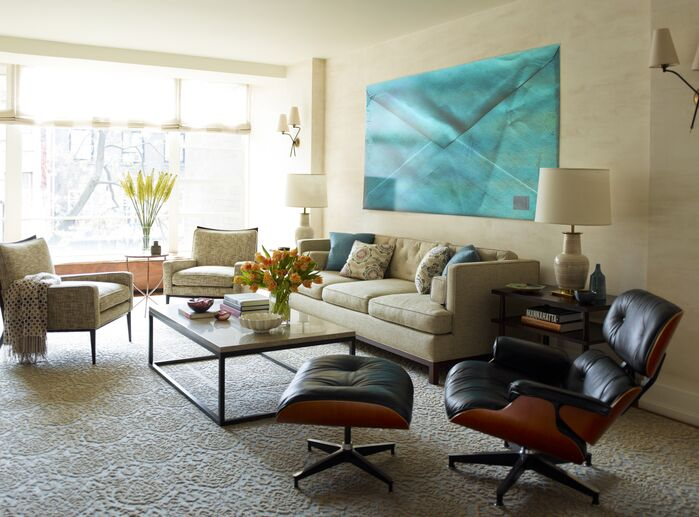 Contemporary Living Room photo by Mendelson Group
