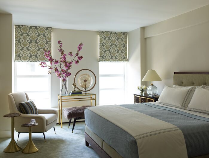Eclectic Bedroom photo by Mendelson Group