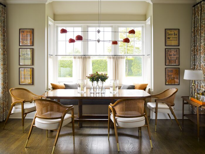Scandinavian Dining Room photo by Mendelson Group